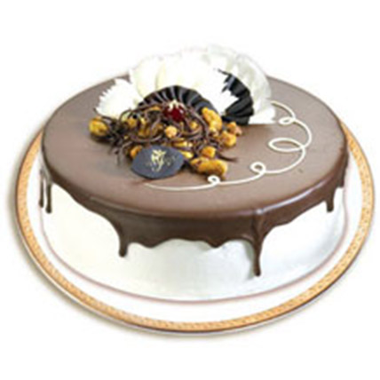 Chocolate Nut Cake:  Cake Delivery In China