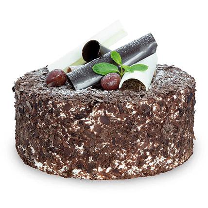 Blackforest Cake 12 Servings EG: Egypt Gift Delivery