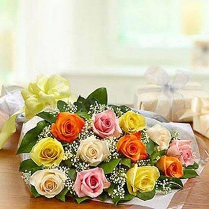 Mix Presentation Bunch JD: Send Flowers to Amman
