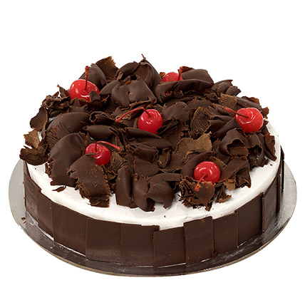 Delectable Black Forest Cake JD: