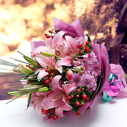 Colors of Charm KT: Kuwait Flowers