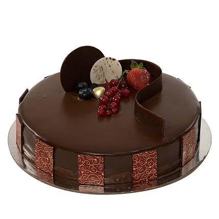 1kg Chocolate Truffle Cake KT: