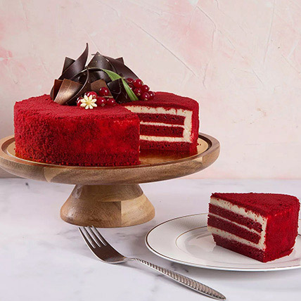 4 Portions Red Velvet Cake: Birthday Gifts for Him