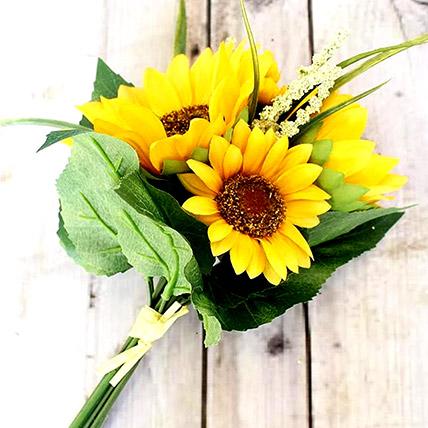 Artificial Sunflower Bunch: Artificial Flowers