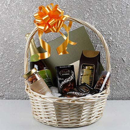 Basket Of Assorted Gifts: Bateel Dates
