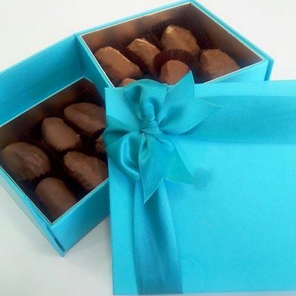 Box of Belgian Choco Dates: Friendship Day Chocolates