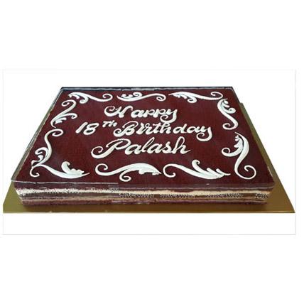 Chocolaty Red Velvet 3Kg: Red Velvet Cake Dubai