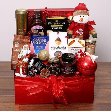 Delectable Xmas Hamper: Christmas Gifts