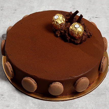 Eggless Ferrero Rocher Cake: Eggless Cakes