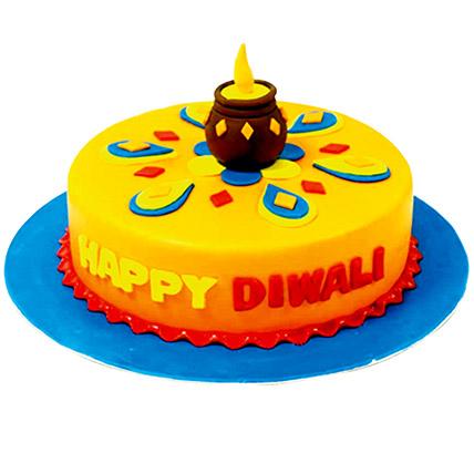 Happy Diwali Chocolate Cake: Diwali Gift Ideas