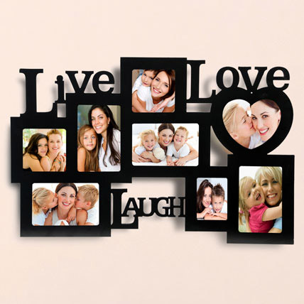 Live Love Laugh Photo Frame: Personalised Gifts Dubai