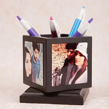 Personalized Pen Holder: