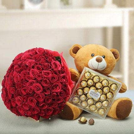 Say U Care: Friendship Day Flowers & Teddy Bears