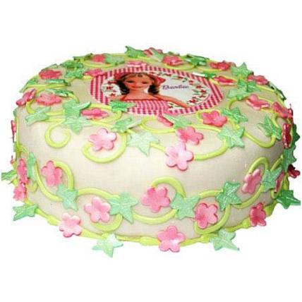 Barbie Cake: Barbie Doll Cake