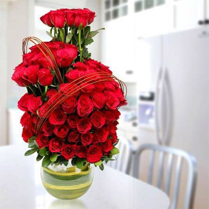 Romantic Arrangement: Flower Delivery Ajman