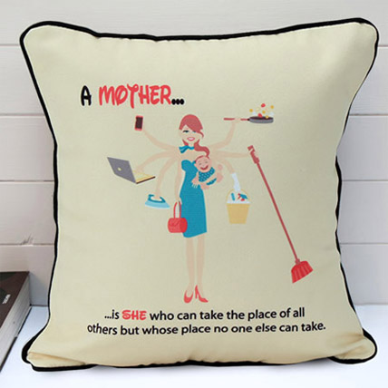 Cushion for Mom: Personalized Gifts for Mother's Day
