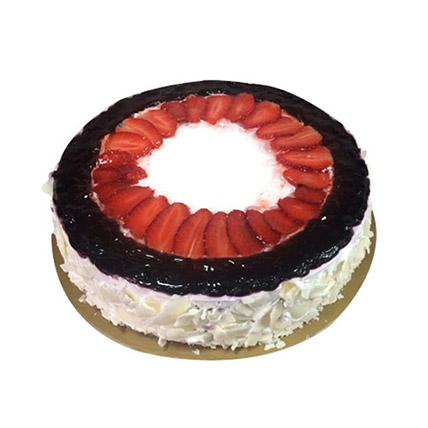 Eggless Mixed Berry Cake: Anniversary Eggless Cakes