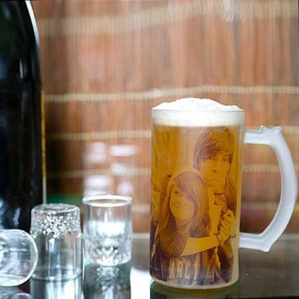 Funtime Personalize Beer Mug: Personalised Gifts for Anniversary