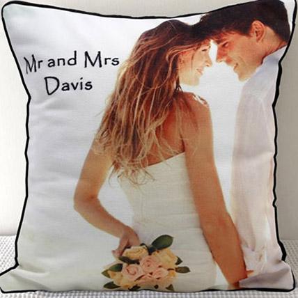 Mr N Mrs Personalized Cushion: Personalised Gifts to Ras Al Khaimah