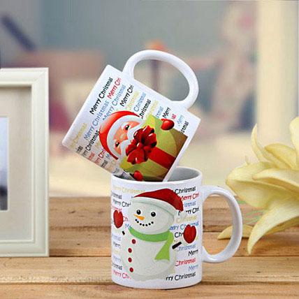 Set Of 2 Printed Mugs: Personalized Mugs Dubai