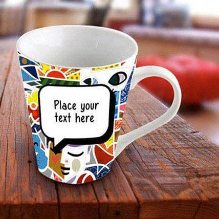 Personalized Vibrant Mug: Mugs for Mothers Day