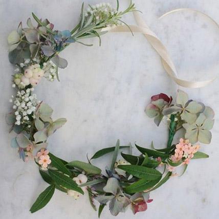 Pretty Floral Tiara: