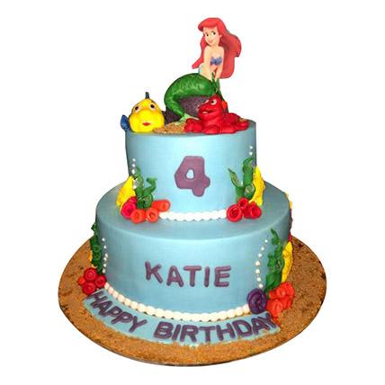 Disney Ariel Princess Cake: Princess Theme Cake