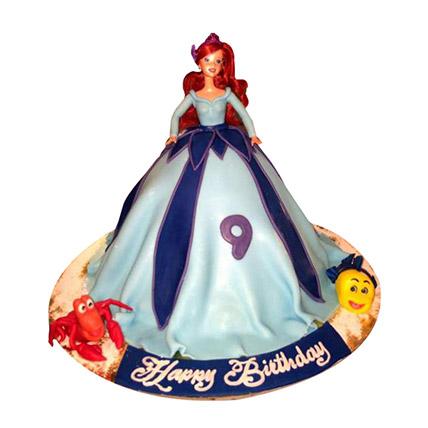 Lovely Doll Cake: Cartoon Cake