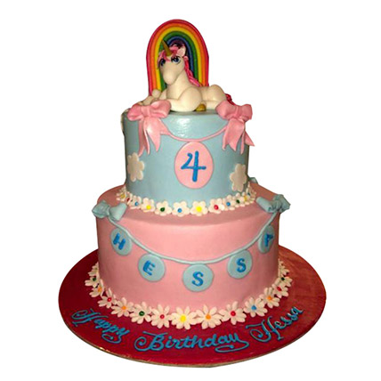 Elegant Pony Cake: Little Pony Cakes