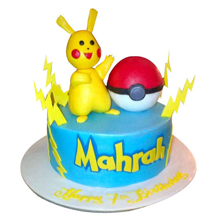 Pokemon Raichu Cake: Cakes for Kids