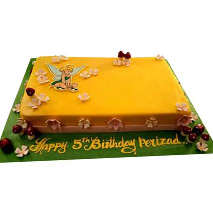 Tinkerbell Cake: Tinkerbell Birthday Cakes