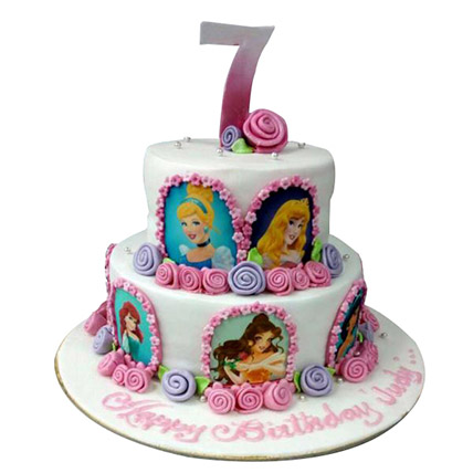 Little Princess Cake: Princess Theme Cake
