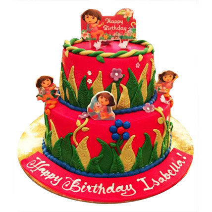Dora Cake: Designer Cakes