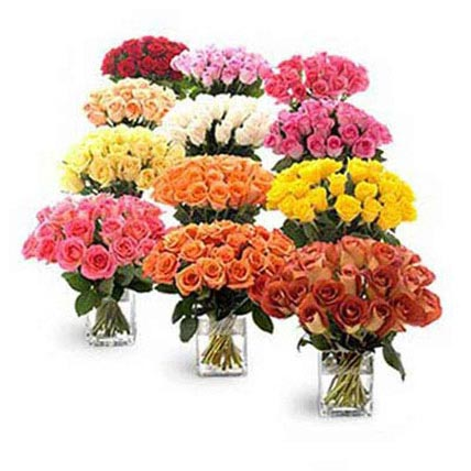 Twelve Bouquets of Roses: Gifts Delivery in Dubai