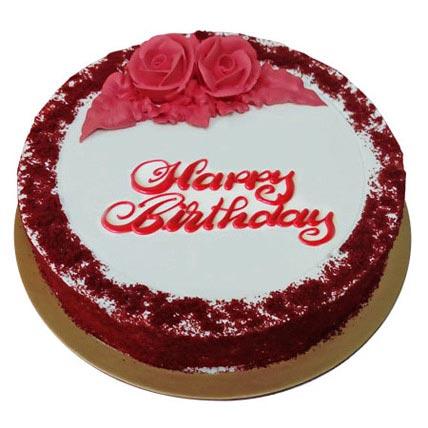 Red Velvet Birthday Cake: Red Velvet Cake Dubai