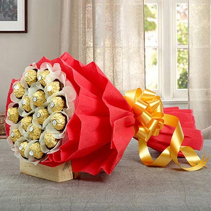 A Bouquet of Sweetness:  Gifts Delivery