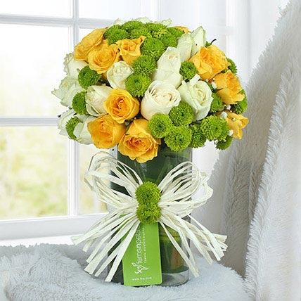 Happy Flower Arrangement:
