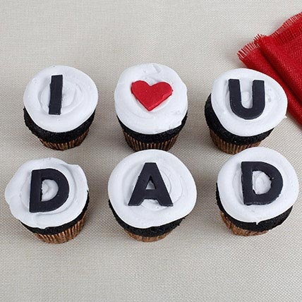 I Love You Dad Cupcakes: Fathers Day Cupcakes