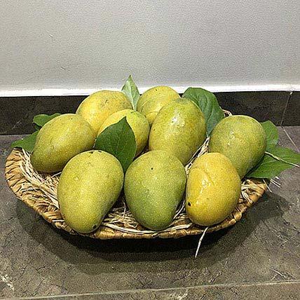 Mango Badami in a Basket: