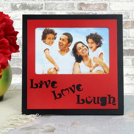 Personalized Live Love Lough Frame: Personalized Gifts