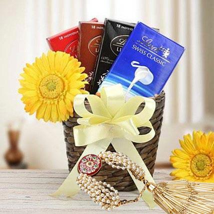 Lumba with Chocolates: Rakhi With Chocolates
