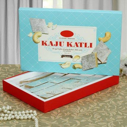 Box of Kaju Katli: Gifts For Holi