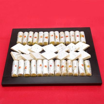 Assortment of Kaju Sweets: Indian Sweets