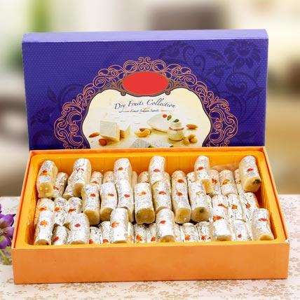 Kaju Rolls For Celebration: Anniversary Sweets