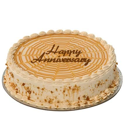 Butterscotch Anniversary Cake: Cakes for Mother