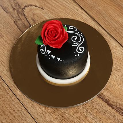 Designer Rose Mono Cake: Birthday Cakes for Boys/Girls