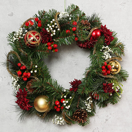 Beautiful Christmas Wreath: