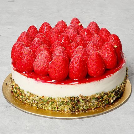 Classic Strawberry Cheesecake: Cheesecakes Delivery Dubai