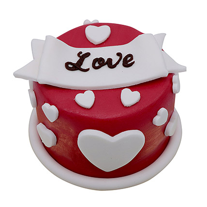 Special Love Cake For Valentines Day: Valentine Day Cakes for Girlfriend