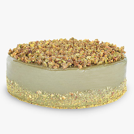 Pistachio Infused Ceamy Cheesecake: Cheesecakes Delivery Dubai